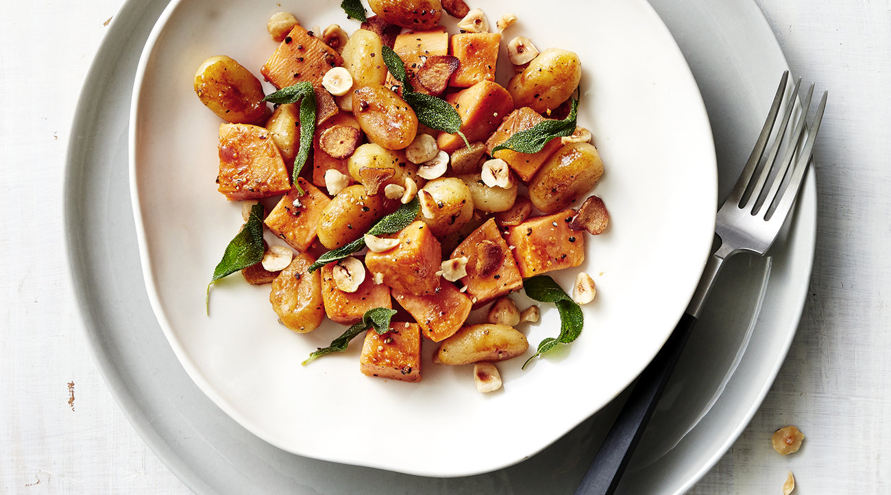 Gnocchi and Sweet Potatoes 