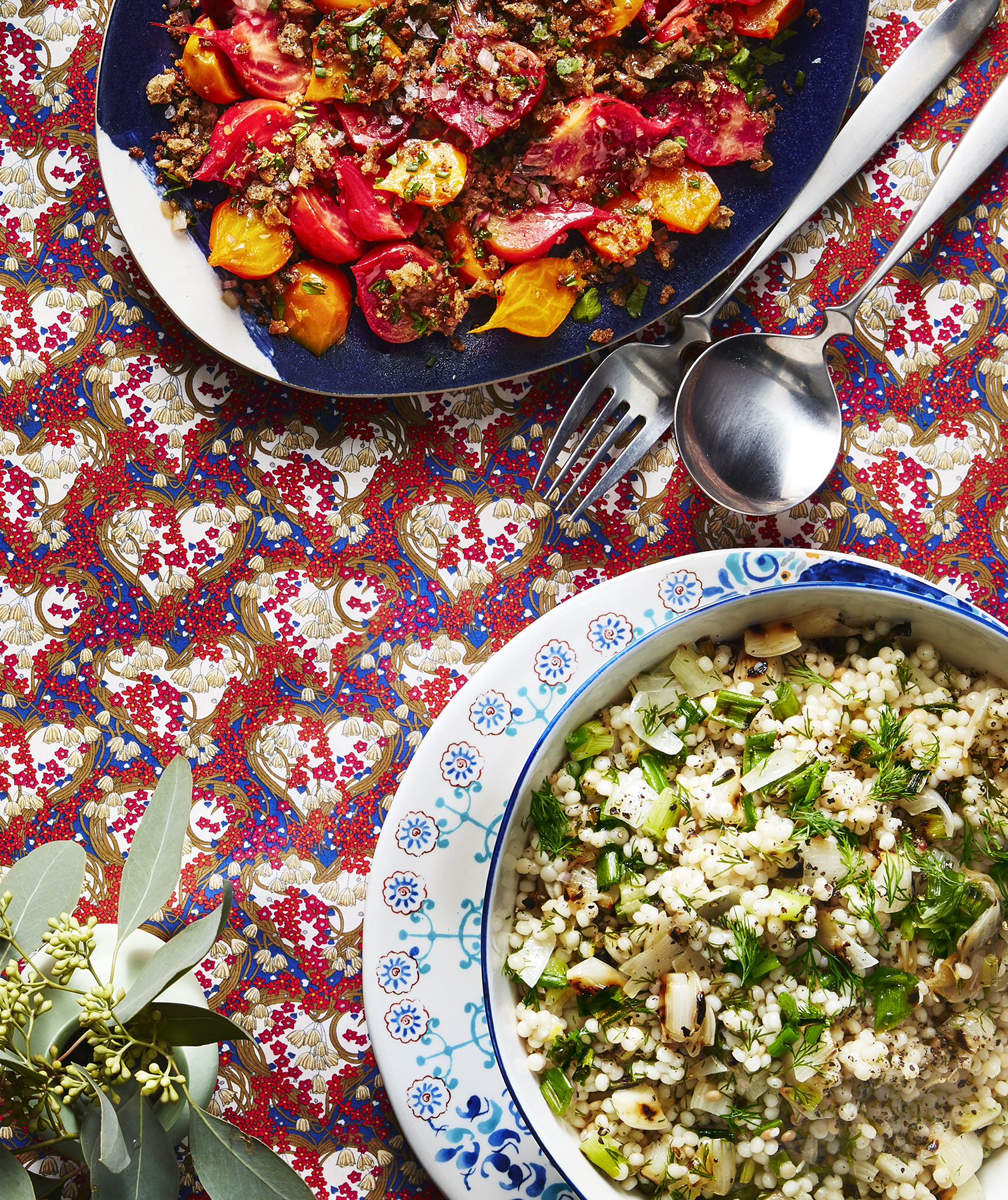 Fregola With Charred Onions and Dill