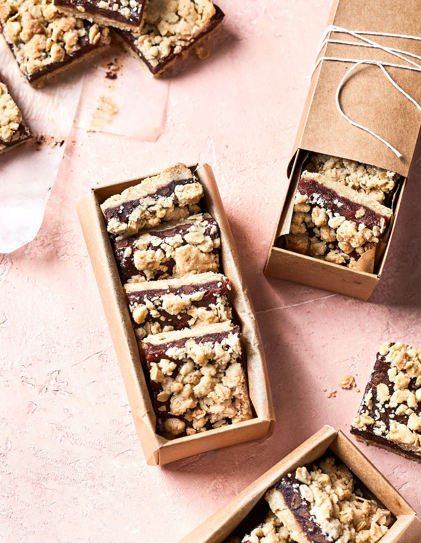 Chocolate-Date-Oat Bars