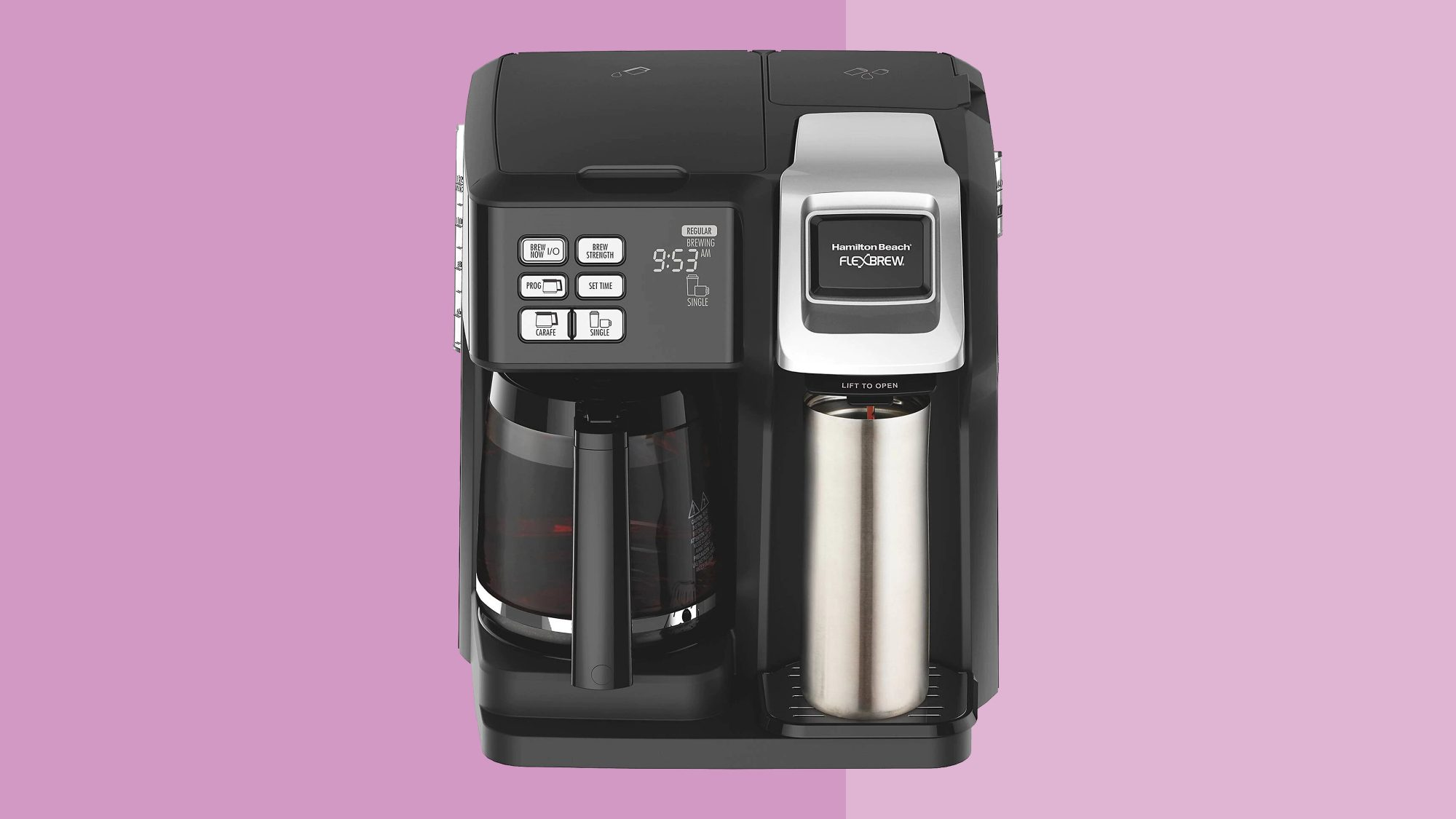 Hamilton Beach FlexBrew 2-Way Coffee maker Tout