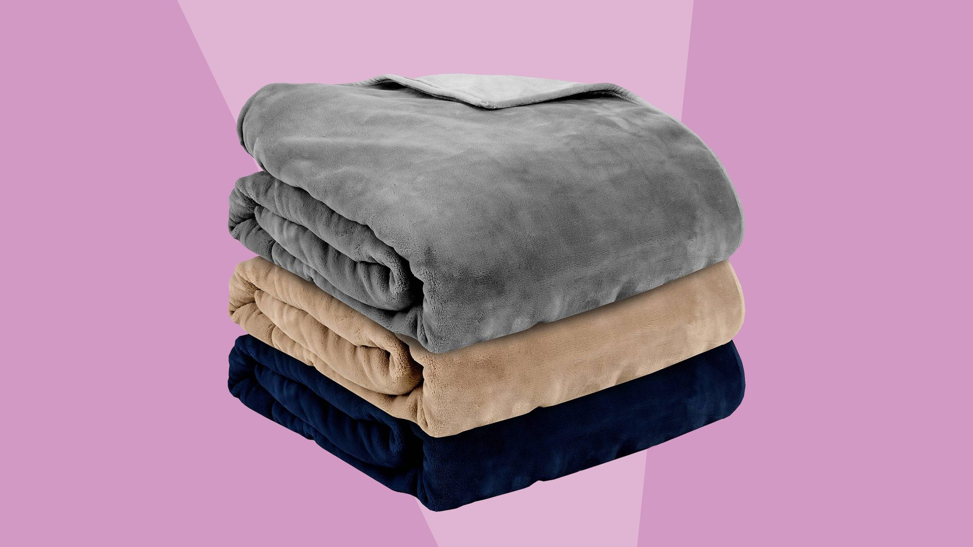 Therapedic Reversible Weighted Blanket Tout