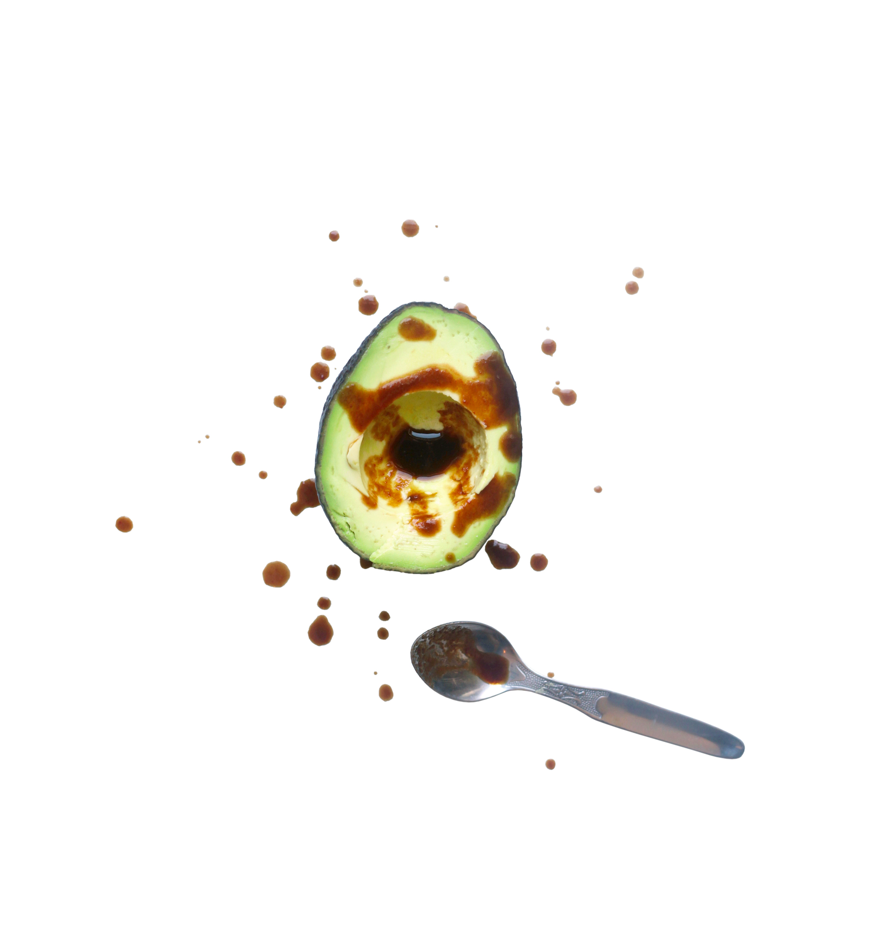 "Avocado ""Bowl"" with Spicy Soy Sauce"