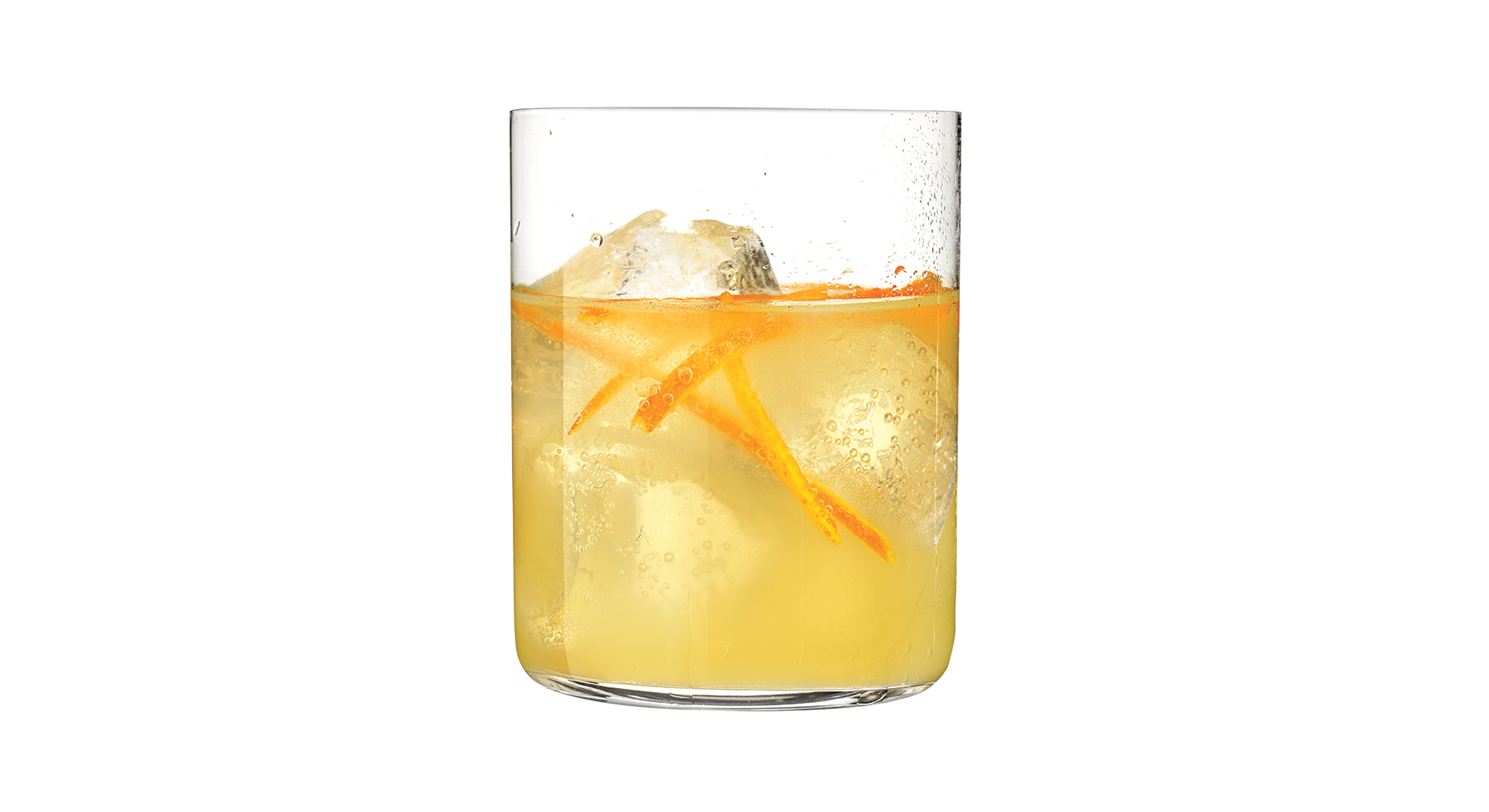 Bourbon and Orange Smash