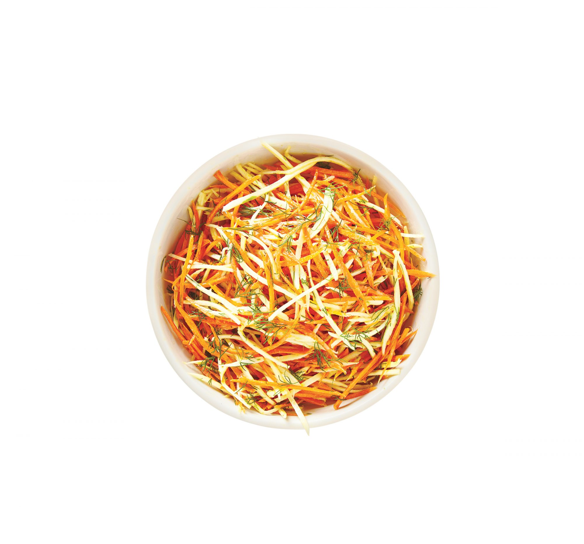 Carrot and Parsnip Slaw