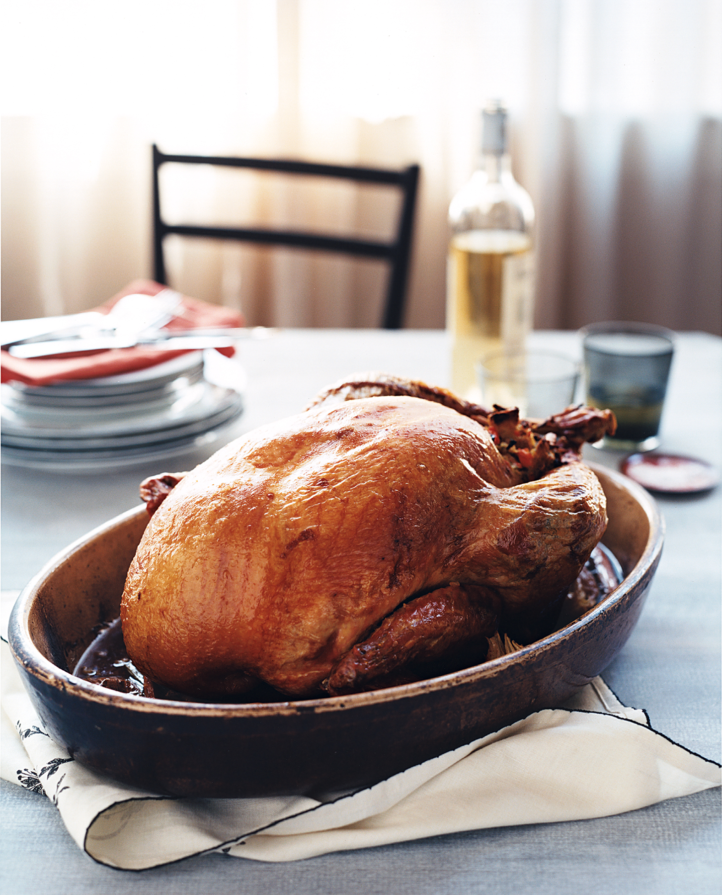 Roast Turkey With Paprika and Thyme
