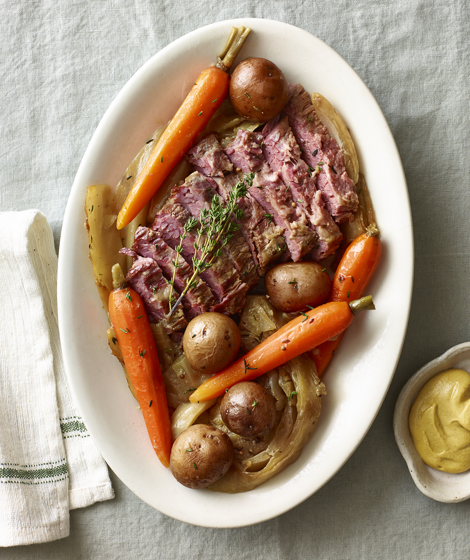 Classic Slow-Cooker Corned Beef and Cabbage