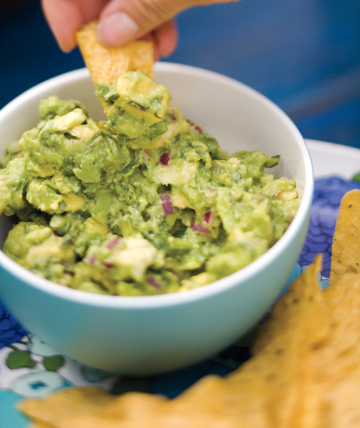 Super Bowl Snacks: Guacamole and Chips