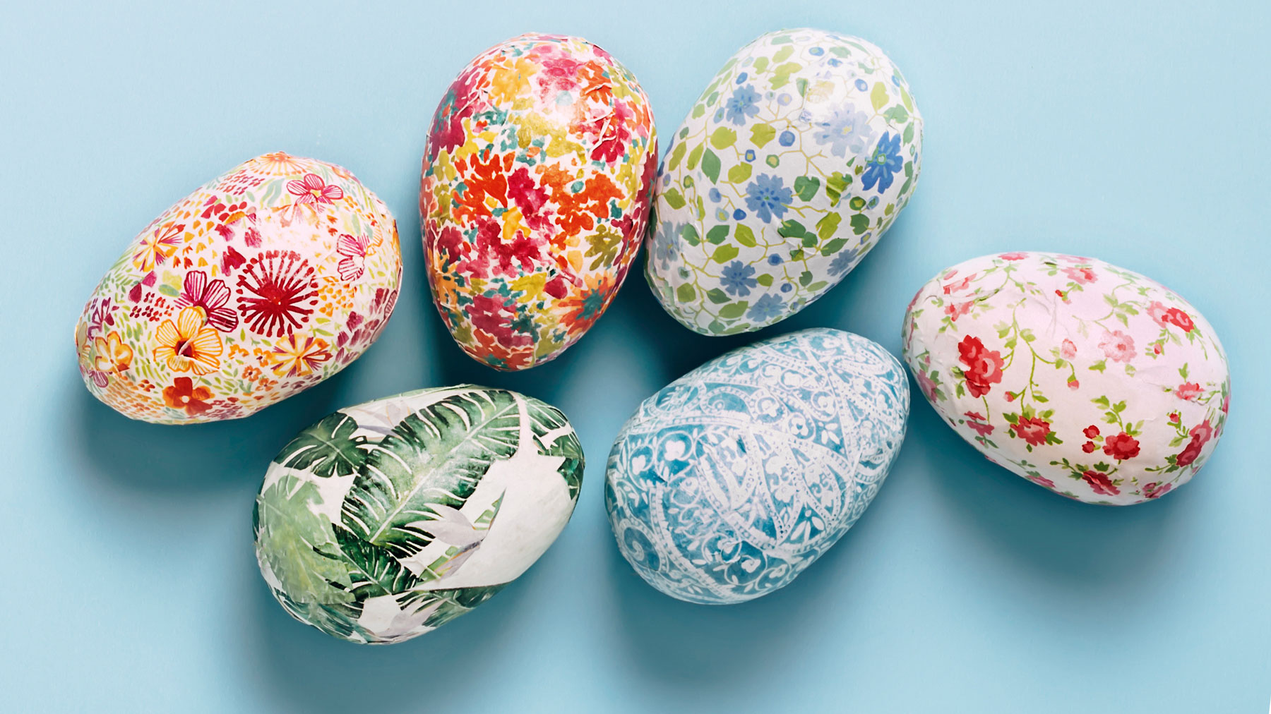Quarantine Easter activities: How to Celebrate Easter During Coronavirus (decorated fake Easter eggs)