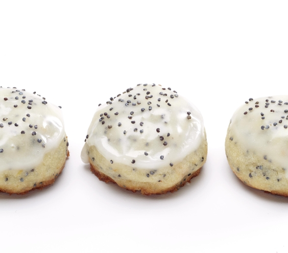 Grapefruit Poppy Seed Buttons