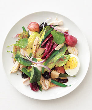 Chicken Niçoise Salad