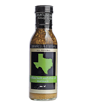 Cookwell & Company Italian herb and olive oil marinade