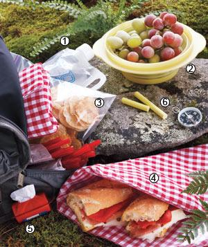 Picnic for a hike