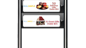 Real Simple Gift Guide iPhone App