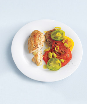 Havarti-stuffed chicken