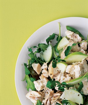 Green Apple and Watercress Chicken Salad