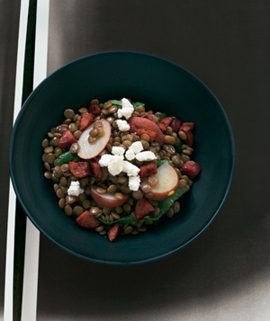Lentil Stew With Sausage and Potatoes