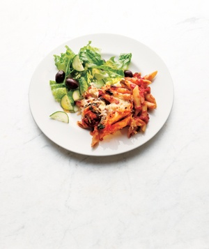 Baked Penne With Spinach