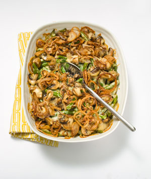 Creamy Green Bean Casserole With Fried Shallots