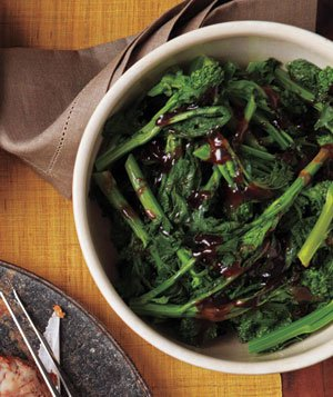 Broccoli Rabe With Red Currant Sauce