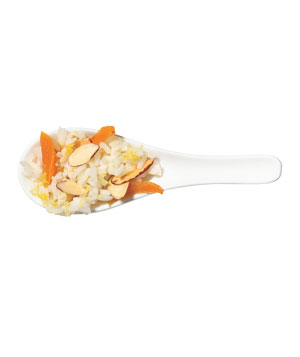 Apricot and Almond Rice
