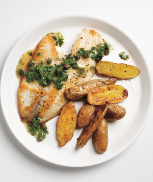 Tilapia With Caper-Parsley Sauce