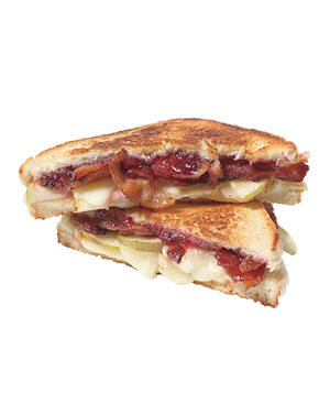 Pear and Bacon Grilled Cheese