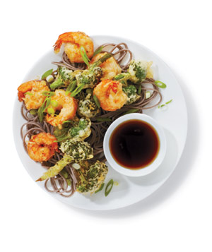 Shrimp and Broccoli Tempura, one of our easy shrimp recipes