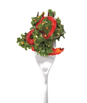 Kale and Pepper Stir-Fry
