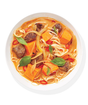 Thai Red Curry and Beef Soup