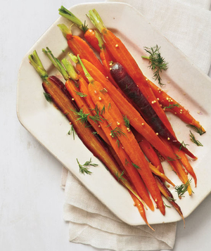 Carrots With Mustard Seeds and Dill