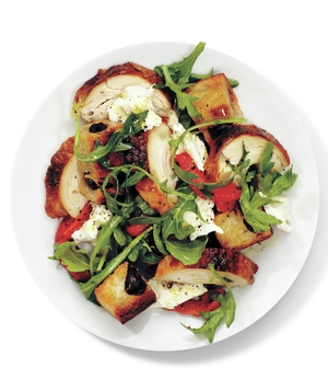 Chicken and Olive Bread Panzanella