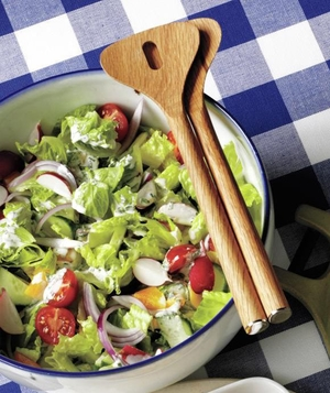Chopped Salad With Lemon-Pepper Buttermilk Dressing