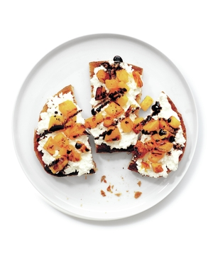 Squash-and-Ricotta Toasts