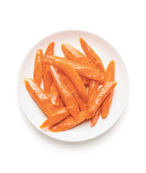 Gingery Glazed Carrots