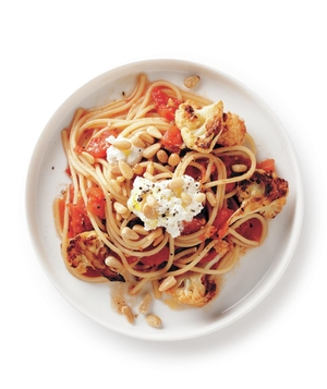 Cauliflower and Ricotta Spaghetti