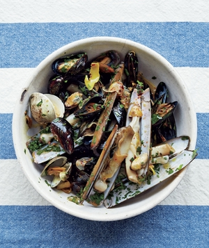 Mussels and Clams With Chili-Lemon Oil