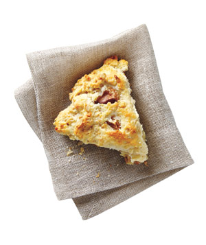 Spiced Oat and Pear Scones