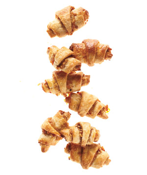Apricot and Walnut Rugelach