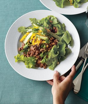 Asian Beef and Salad