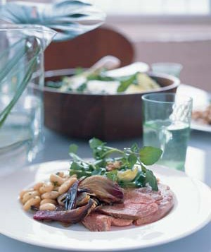 Leg of Lamb With Fennel