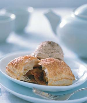 Apricot and Chocolate Pastry Pillows