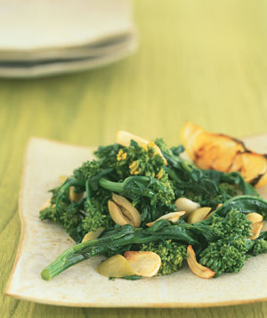 Broccoli Rabe and Olives With Lemon