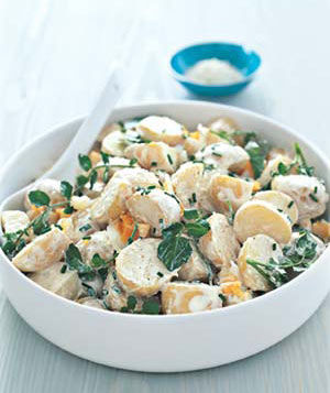 Baby Potato and Watercress Salad