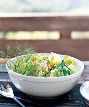 Butter Lettuce and Herb Salad
