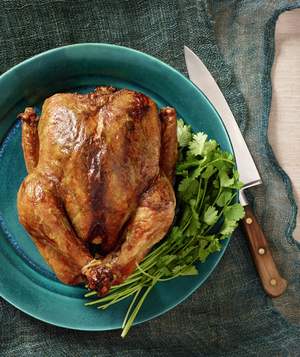 Roast Chicken With Moroccan Spice Rub