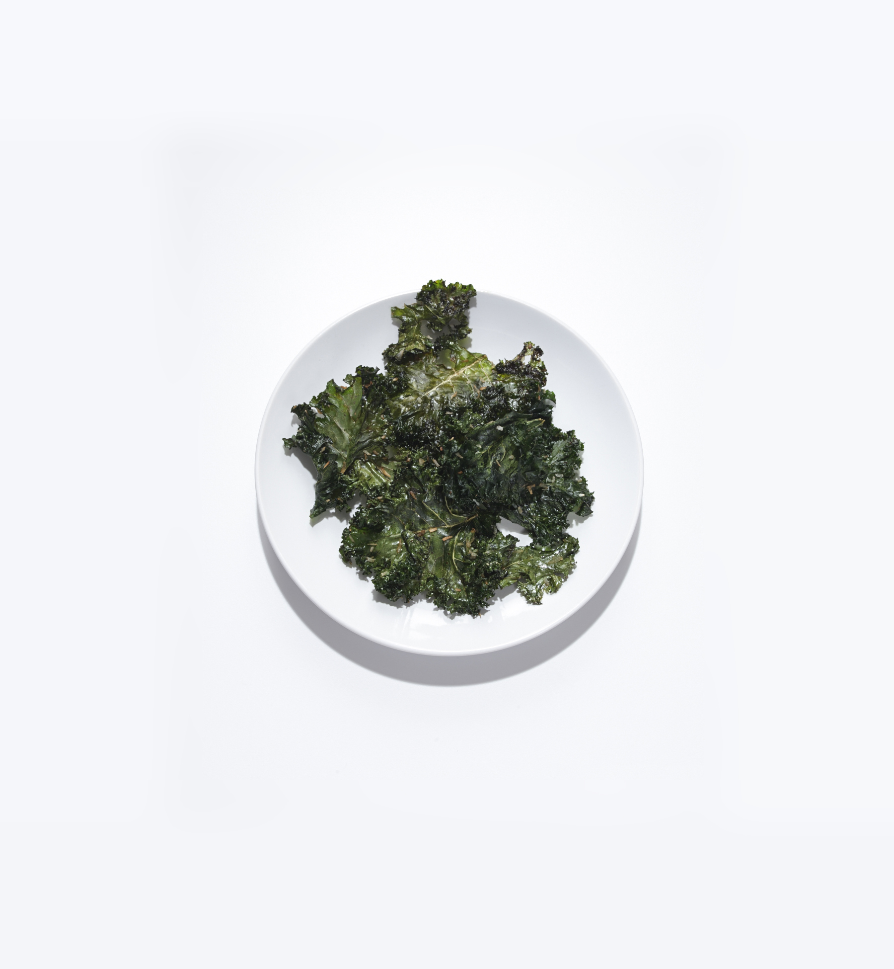 Soy and Coconut Kale Chips
