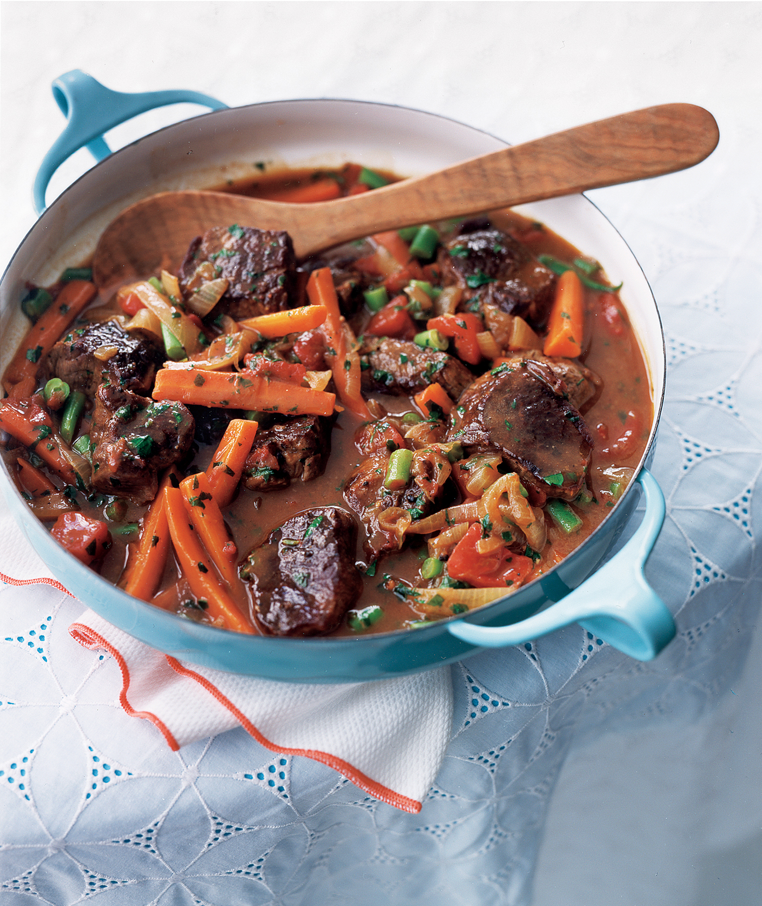 Easy Supper Ideas: Quick Spring Lamb and Vegetable Stew