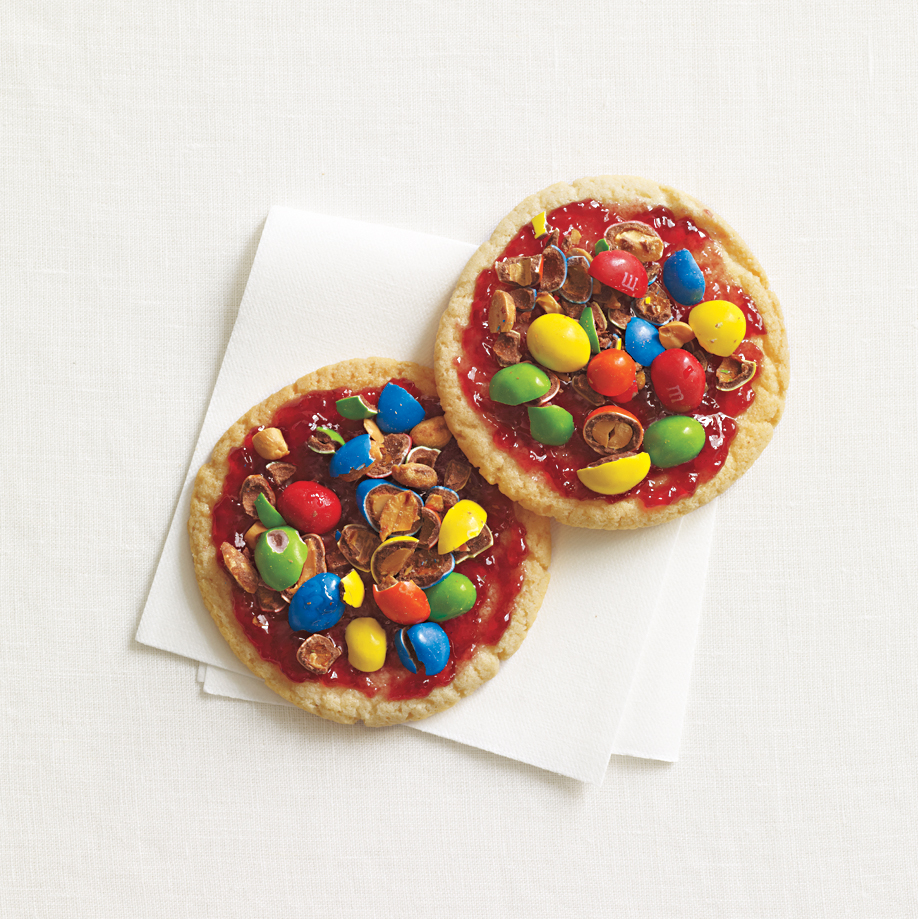 Peanut M&M's and Jelly Cookies