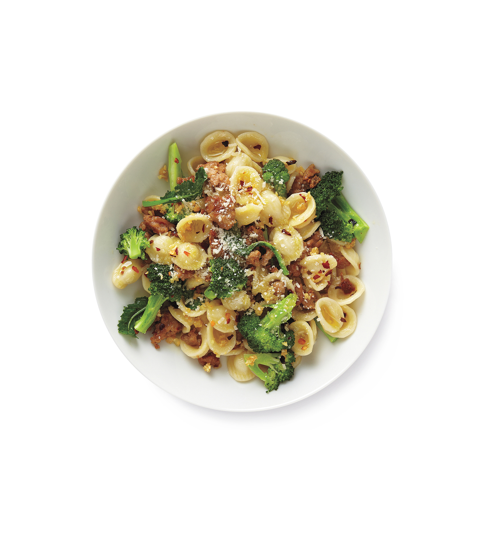 Pasta With Turkey and Broccoli, one of Real Simple's great recipes with ground turkey
