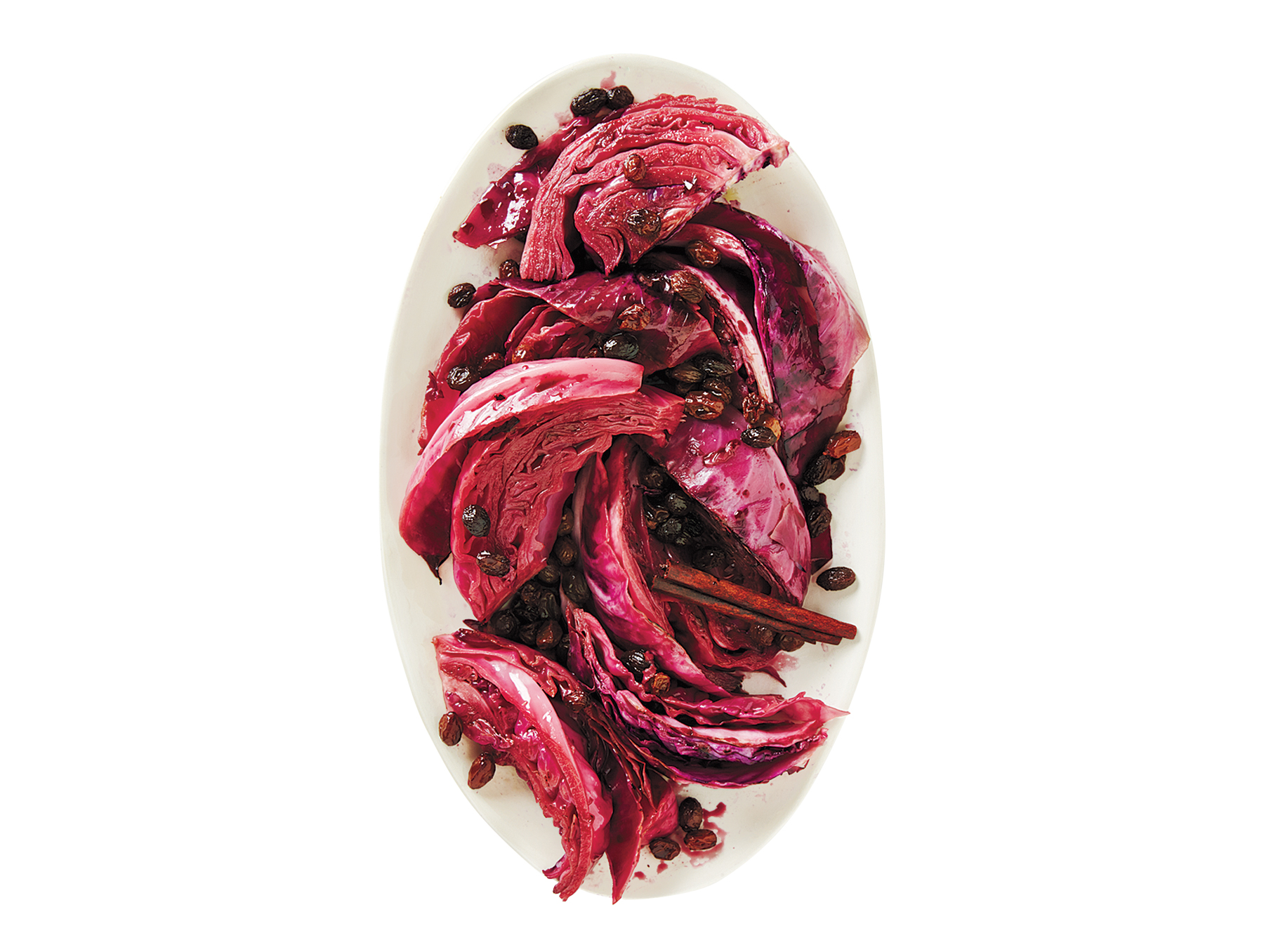 Braised Red Cabbage Wedges